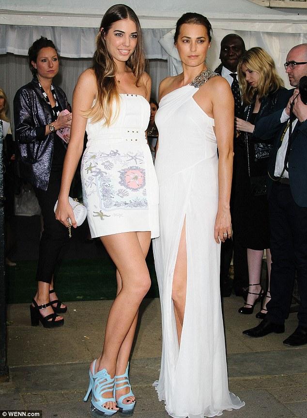 Yasmin Le Bon And Daughter Amber Weddingstory