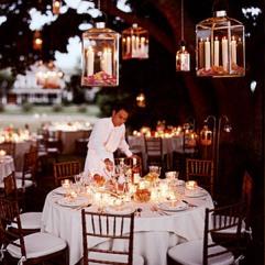 Summer hanging lanterns