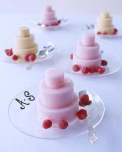 Summer sorbet cakes