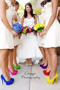 Bridesmaids 5 Colour