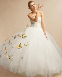 Bride 11 Butterflies