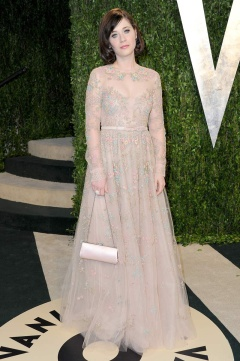 Zooey Deschanel in Valentino