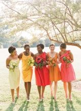 Bridesmaids 1 Orange