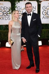 Naomi Watts and Liev Schreiber - both wearing Tom Ford.