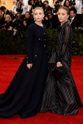 Ashely and Mary Kate Olsen in vintage Chanel
