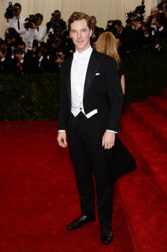 Benedict Cumberbatch in Tom Ford