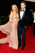 Blake Lively and Ryan Reynolds in Gucci