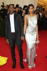 Chanel Iman in Topshop with ASAP Rocky