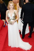 Kylie Minogue in Marchesa dress with Harry Winston jewellery